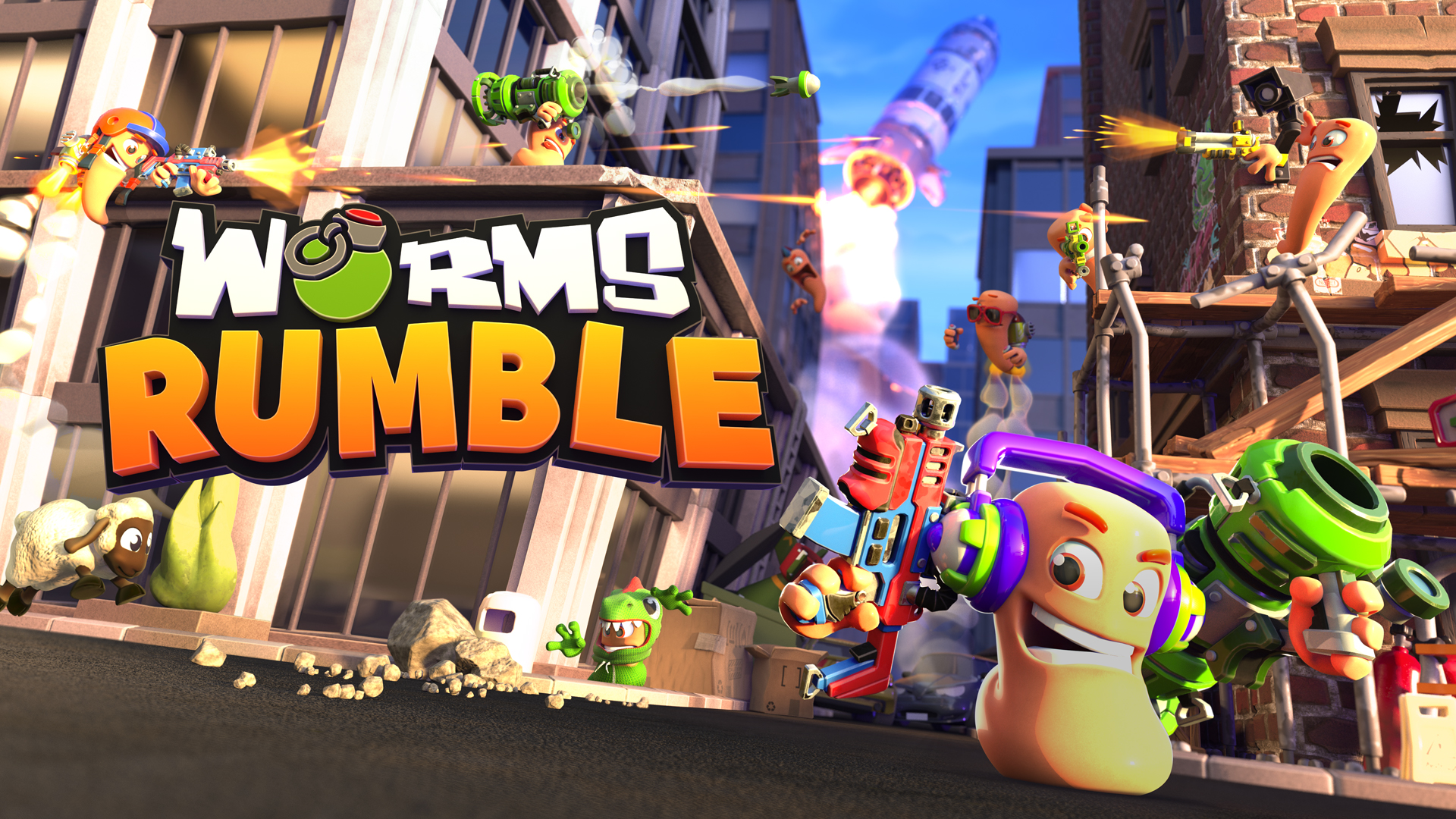 Worms Rumble is a this month's PS5 freebie