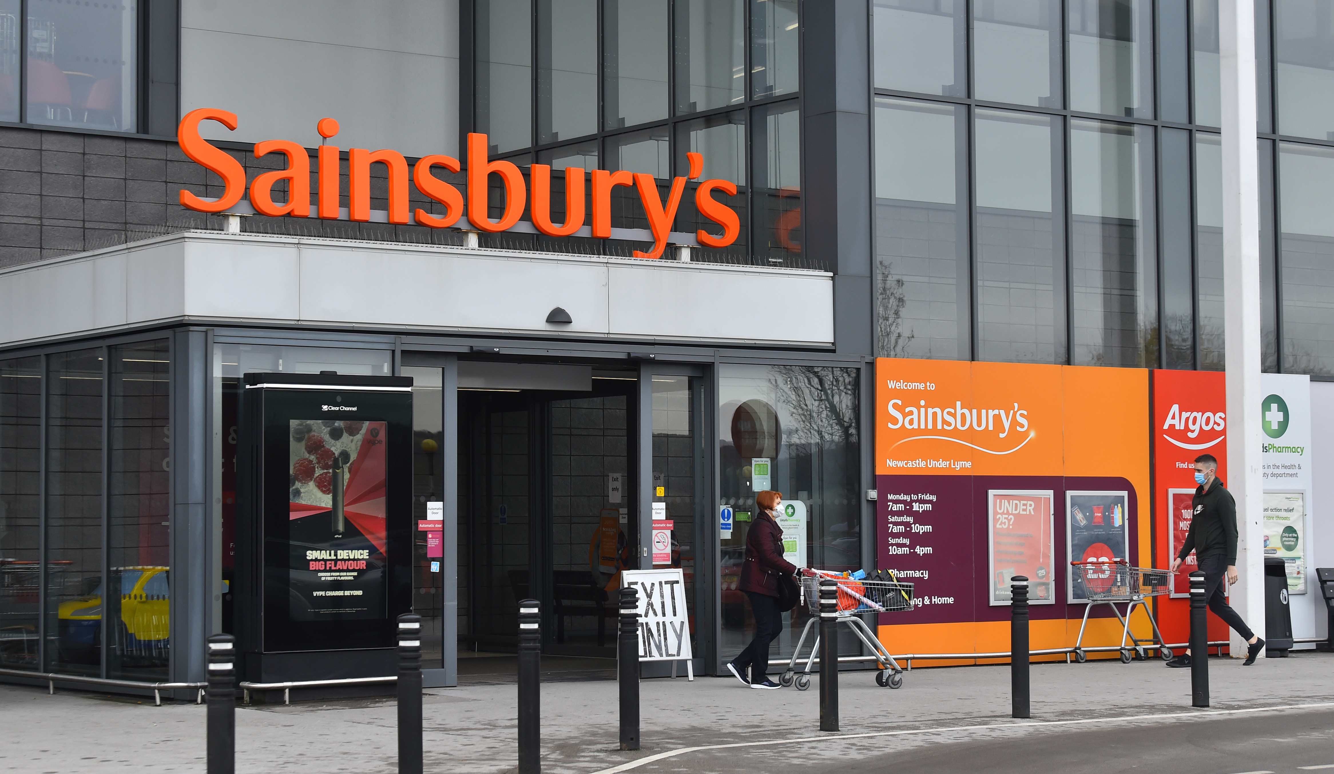 Sainsbury's also extended its Christmas opening hours this year