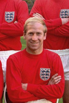 Bobby Charlton is regarded as one of the best ever football players