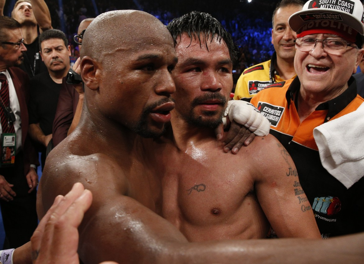 Manny Pacquiao had 'multi-million dollar' offer from Middle East to rematch  Floyd Mayweather but coronavirus axed plans