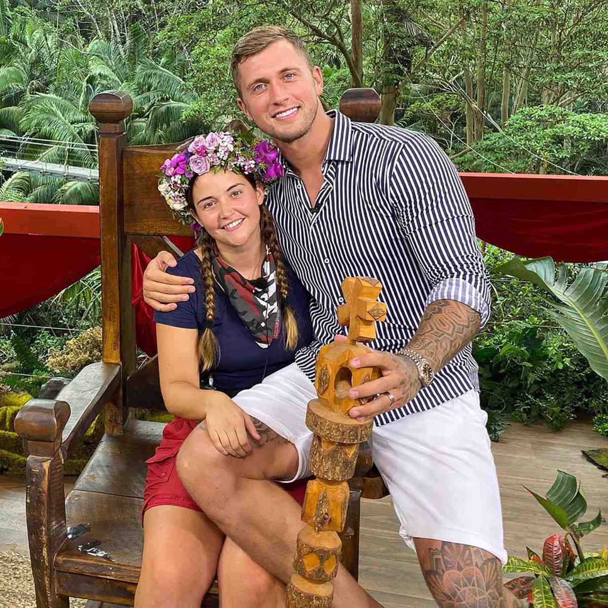 The former soap star won I'm A Celeb in 2019