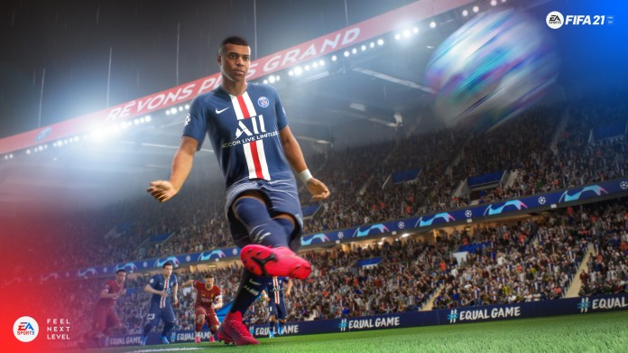 Fifa 21 is out December 4 on the PlayStation 5 having launched on the PS4 last month