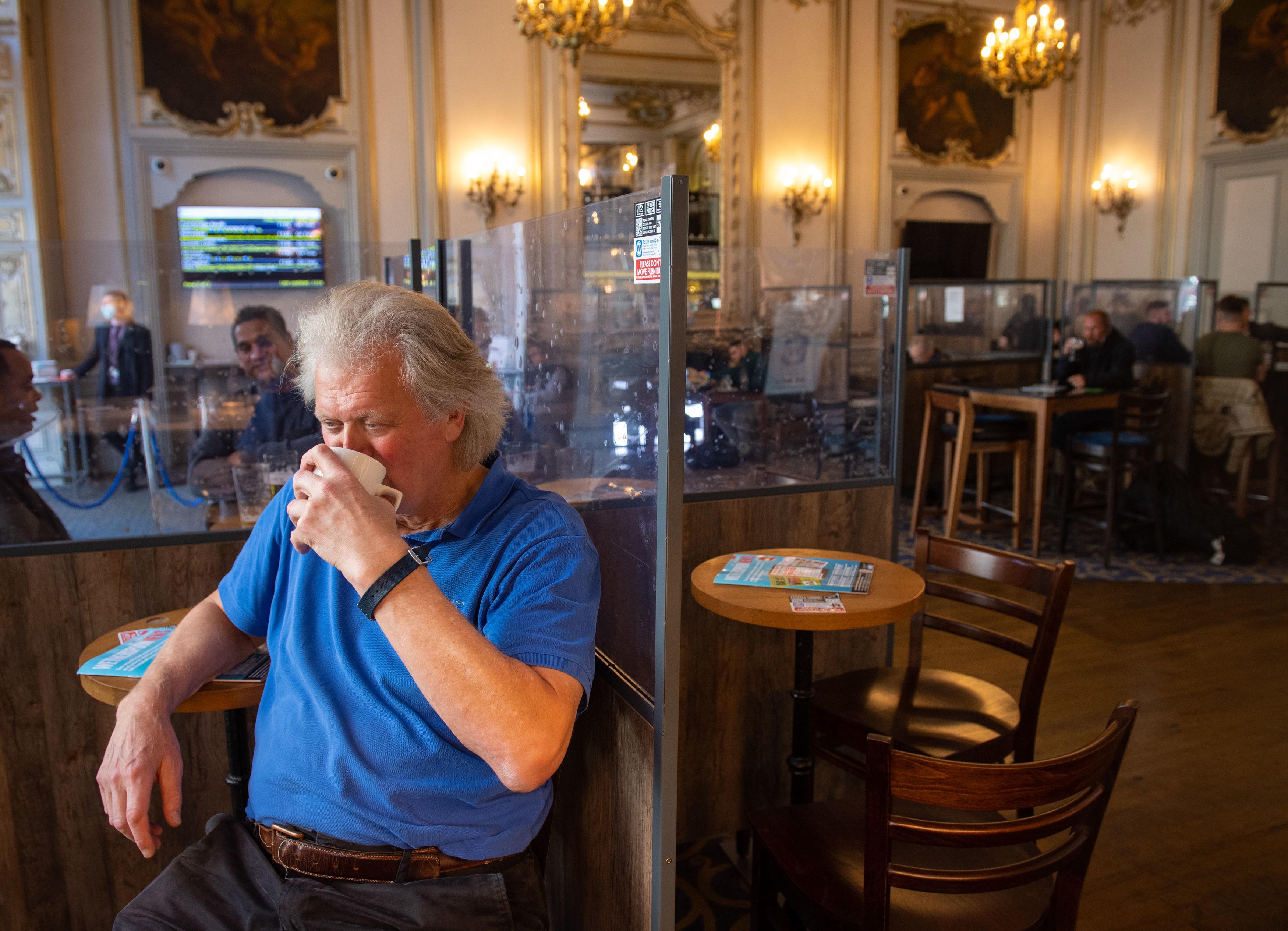 Chairman Tim Martin has slammed lockdown for ruining pub trade