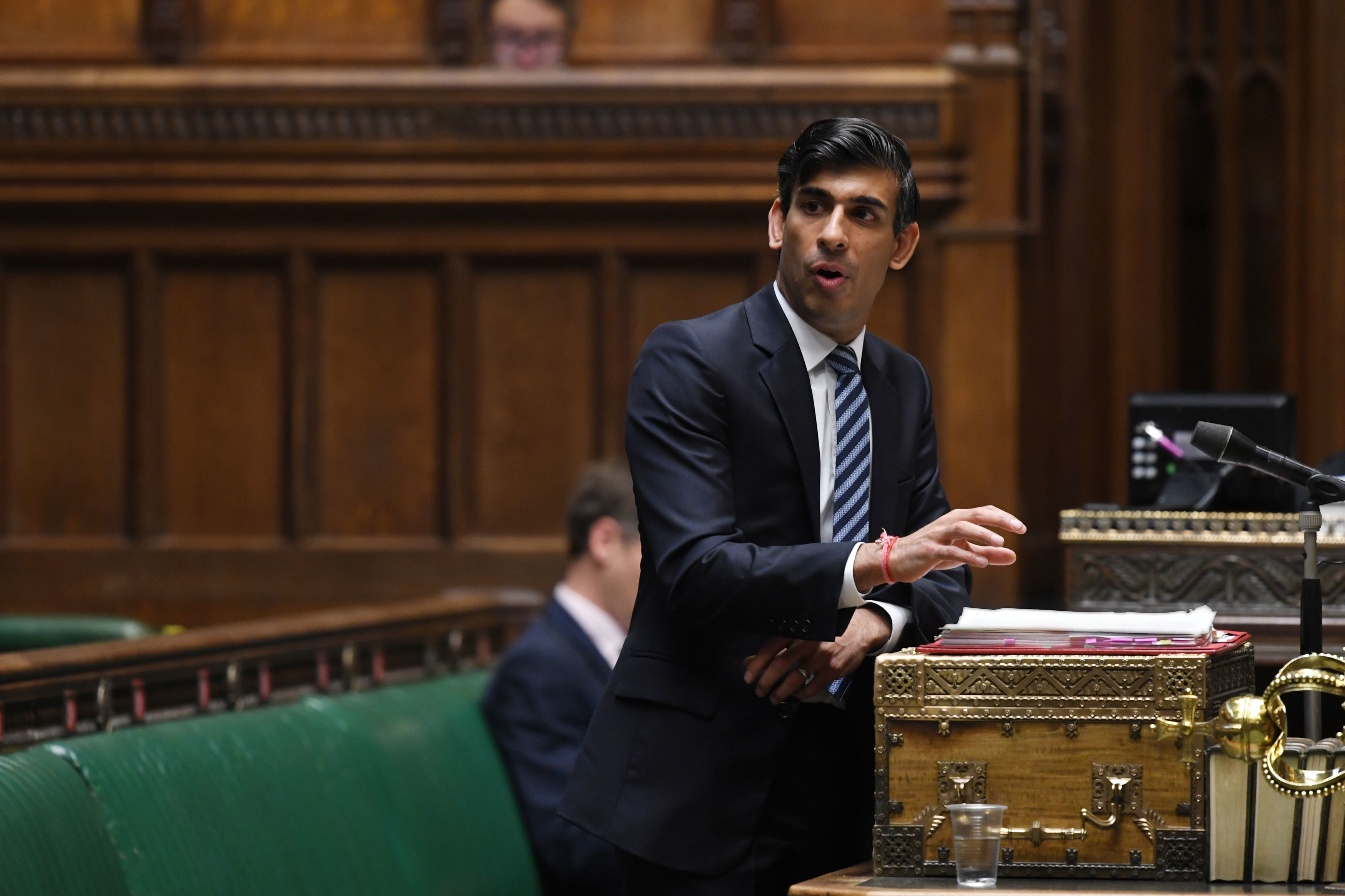 Chancellor Rishi Sunak said today that the amount of cover will increase