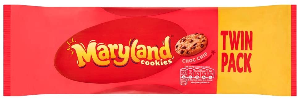 A twin-pack of Maryland cookies is now just £1.25 at Asda