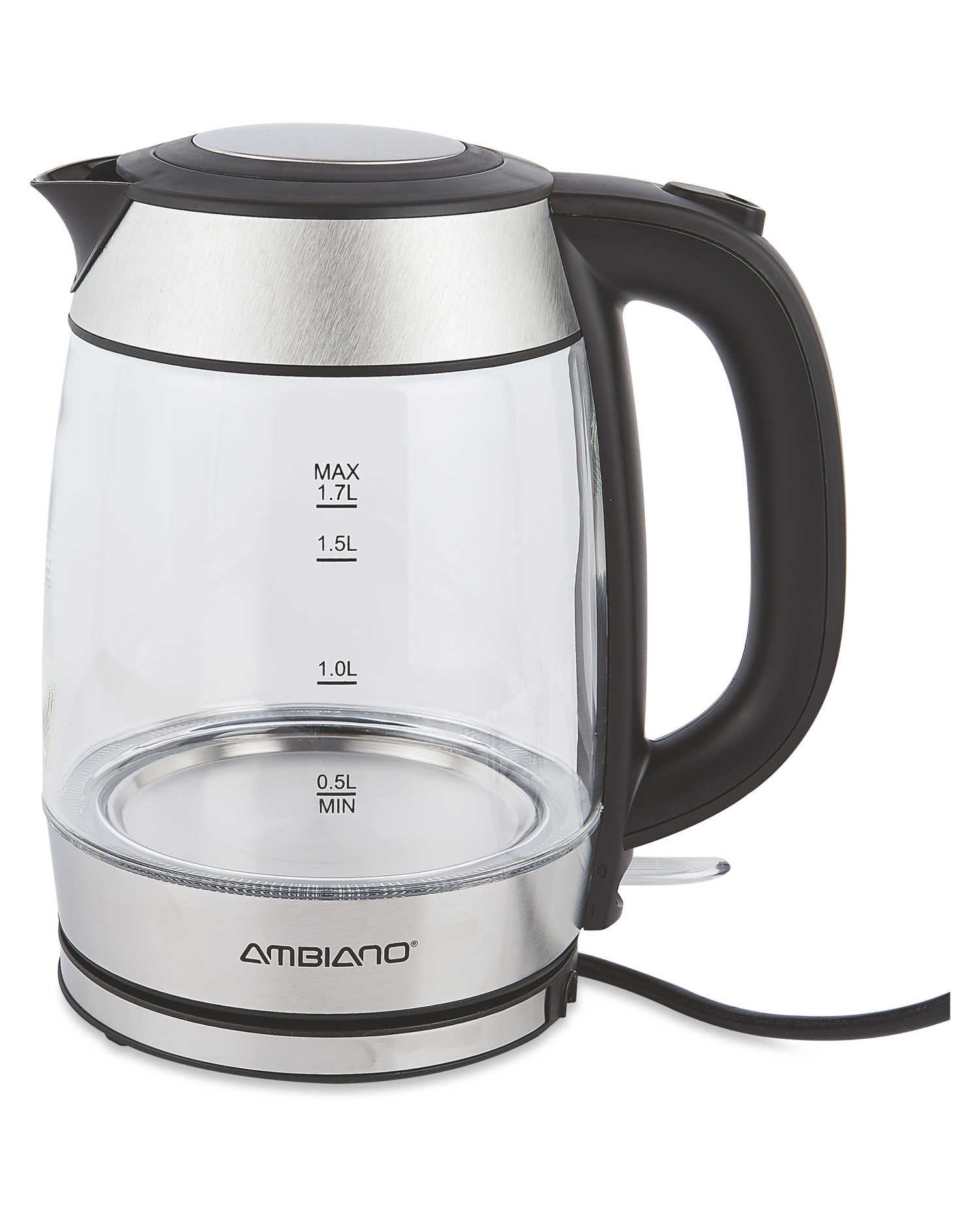 You could save yourself £5 by opting for this Ambiano kettle from Aldi