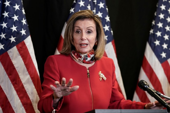 Nancy Pelosi said she was ready to 'play a leading role' in the event of a tie