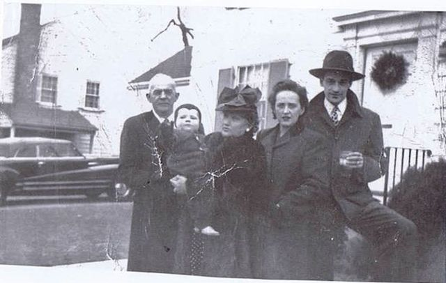 Biden's mum Catherine Eugenia and dad Joe Sr (right and second from right)