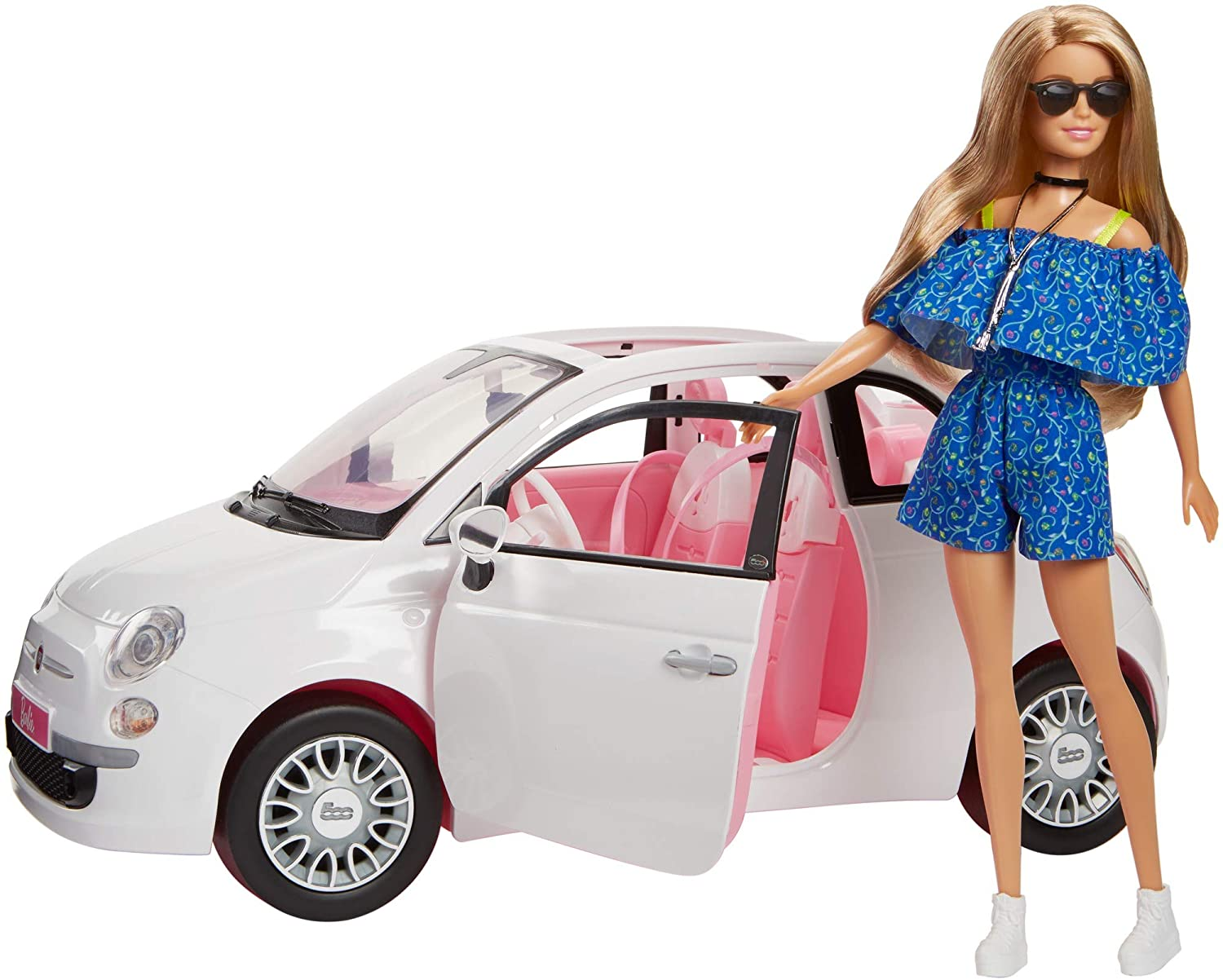 Treat your kids for Christmas to this Barbie Fiat car and doll while saving £30 from Argos