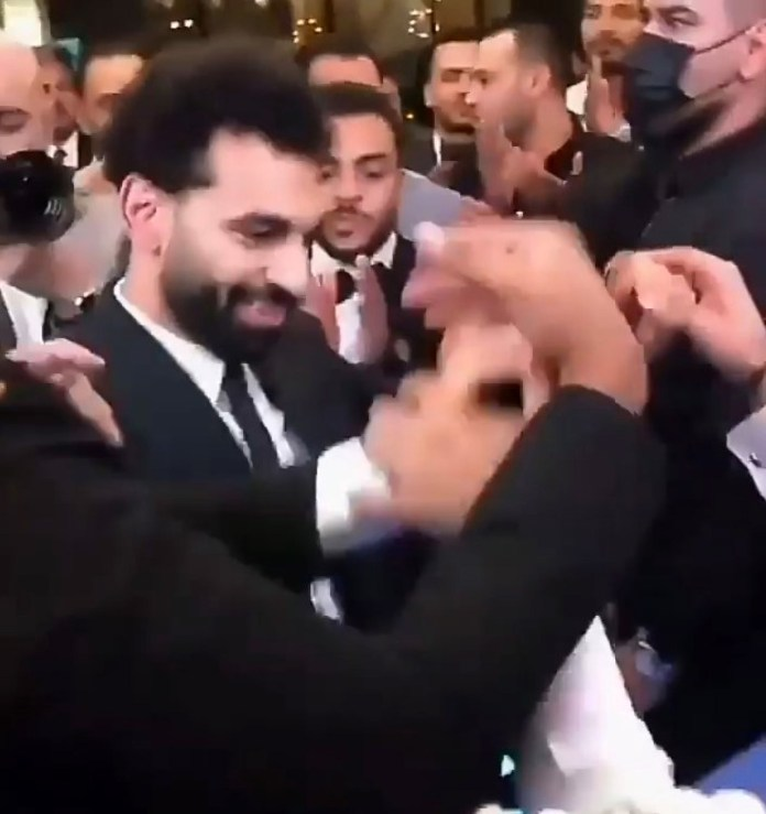 Salah was in close contact with a number of individuals