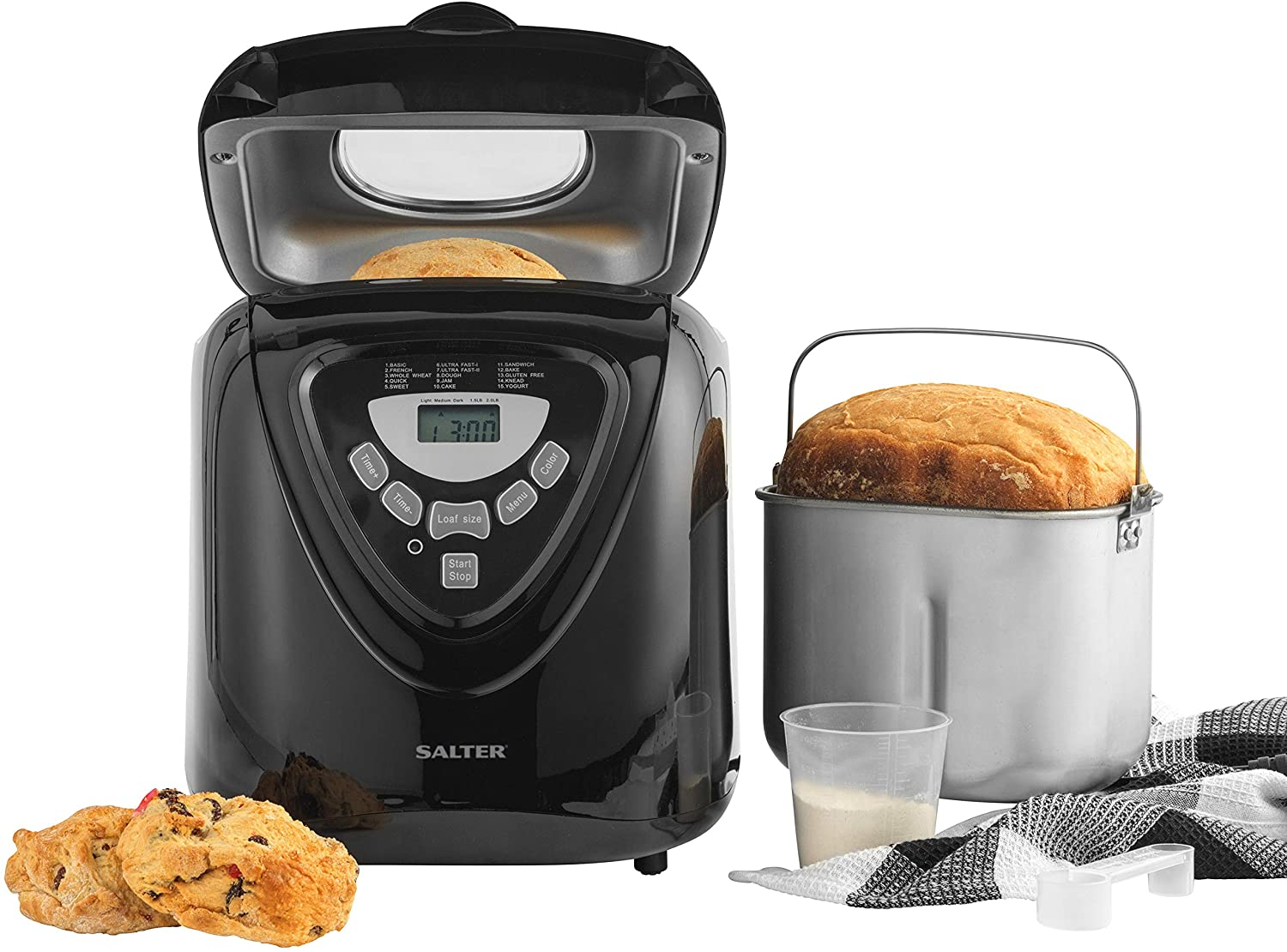 This salter digital bread maker has been splashed in price by £70 on amazon.co.uk