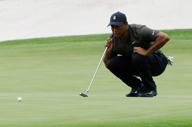 Woods is aiming to win his sixth Masters title this weekend