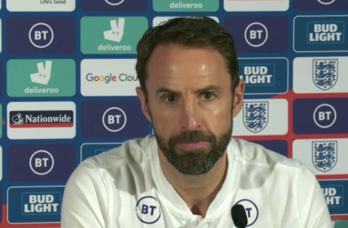 He was in good spirits at the press conference before the Nations League clash in Belgium