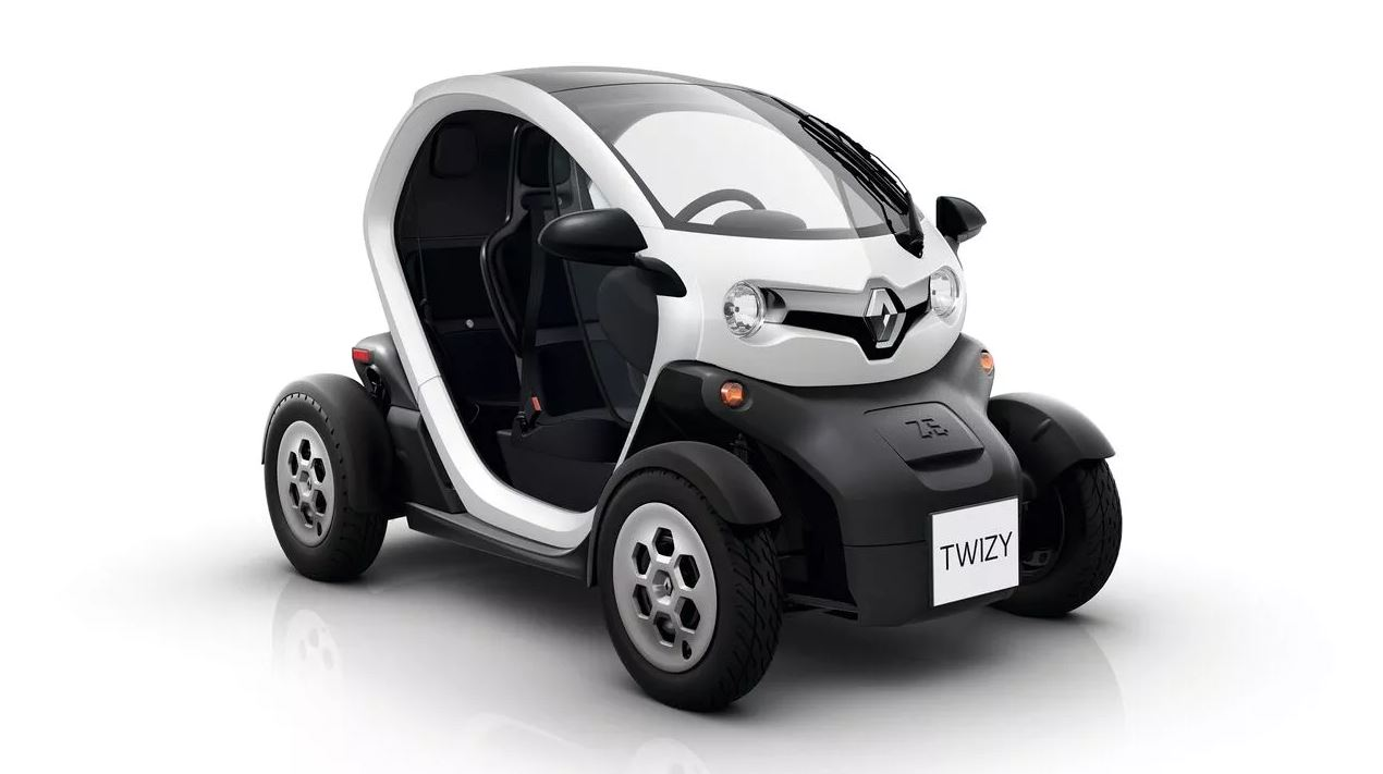 The cheapest electric vehicle is this Renault Twizy model