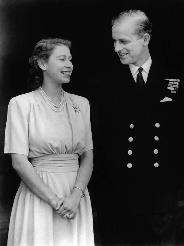 The couple announced their engagement in 1947, when Elizabeth turned 21