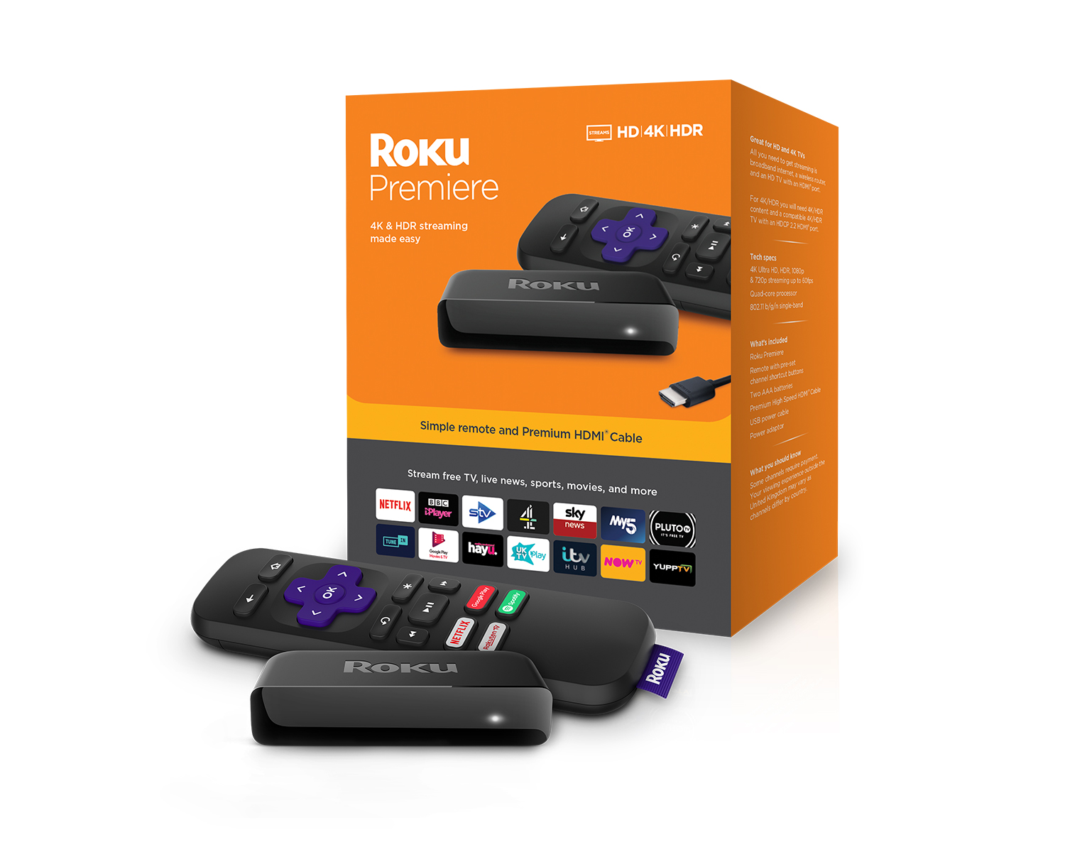 Roku's Premiere is the brand's most affordable 4K supporting device