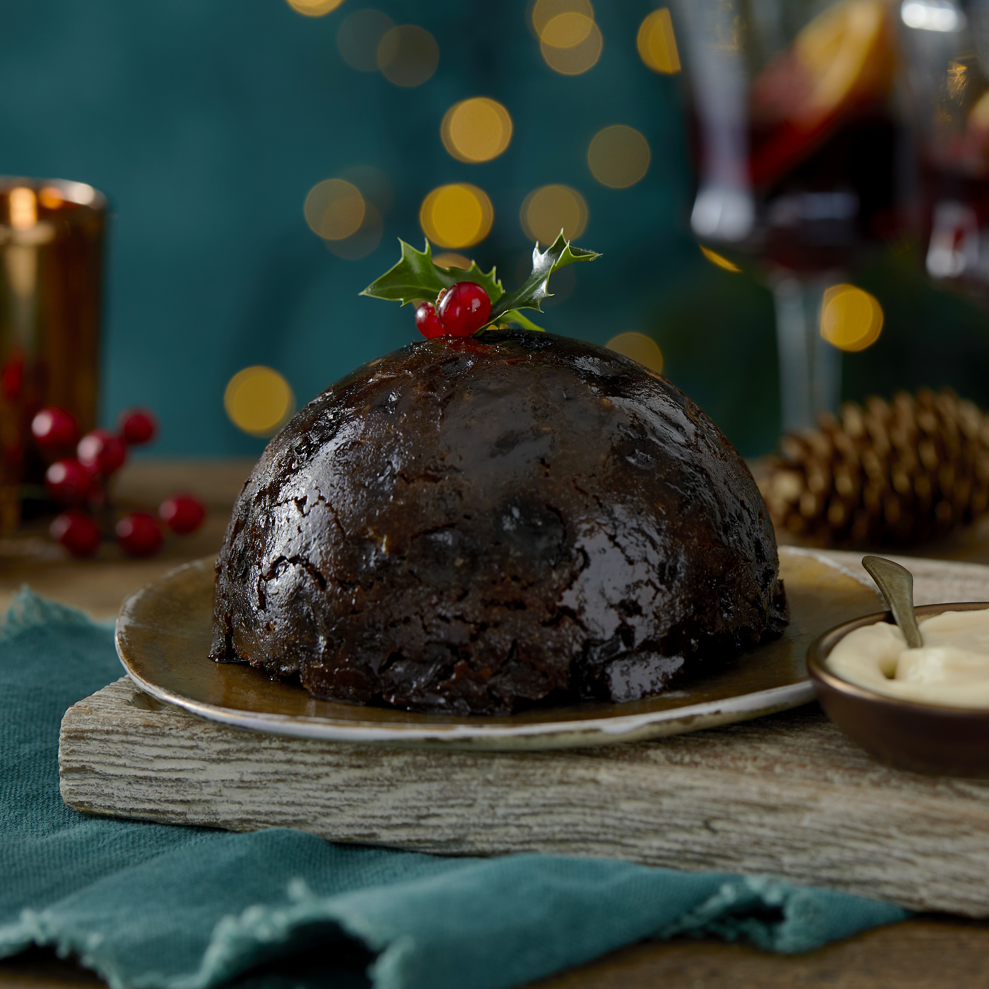 The Best Christmas Pudding from Morrisons is one of their 250 award-winning products