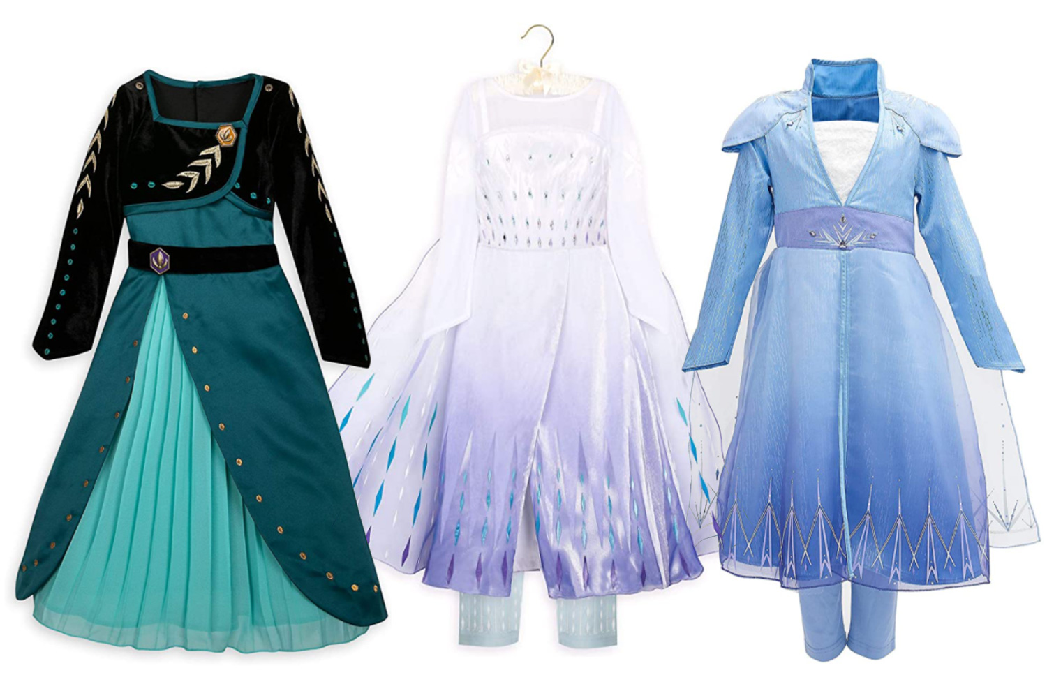 Frozen costumes make a great Christmas present