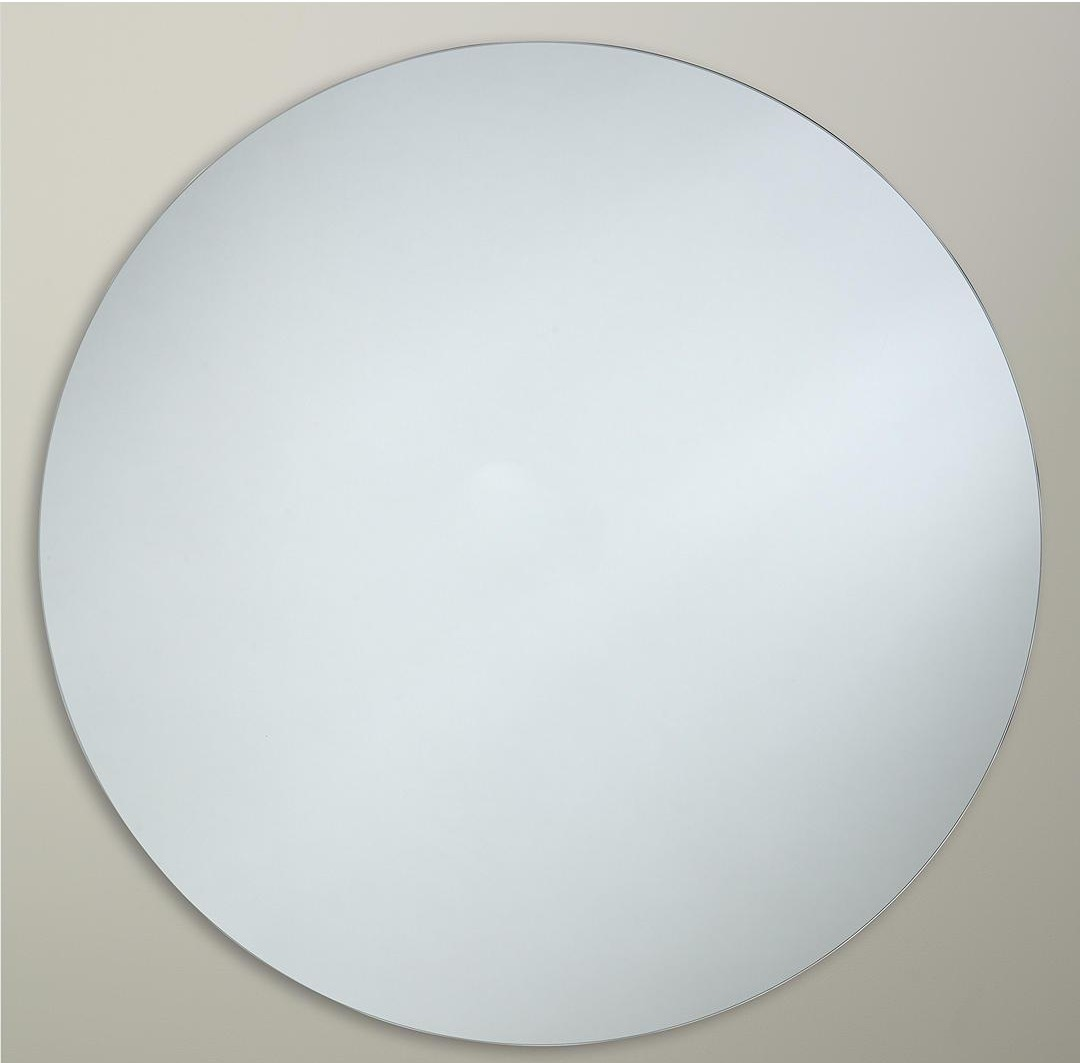 John Lewis is selling a round 80cm mirror for £120