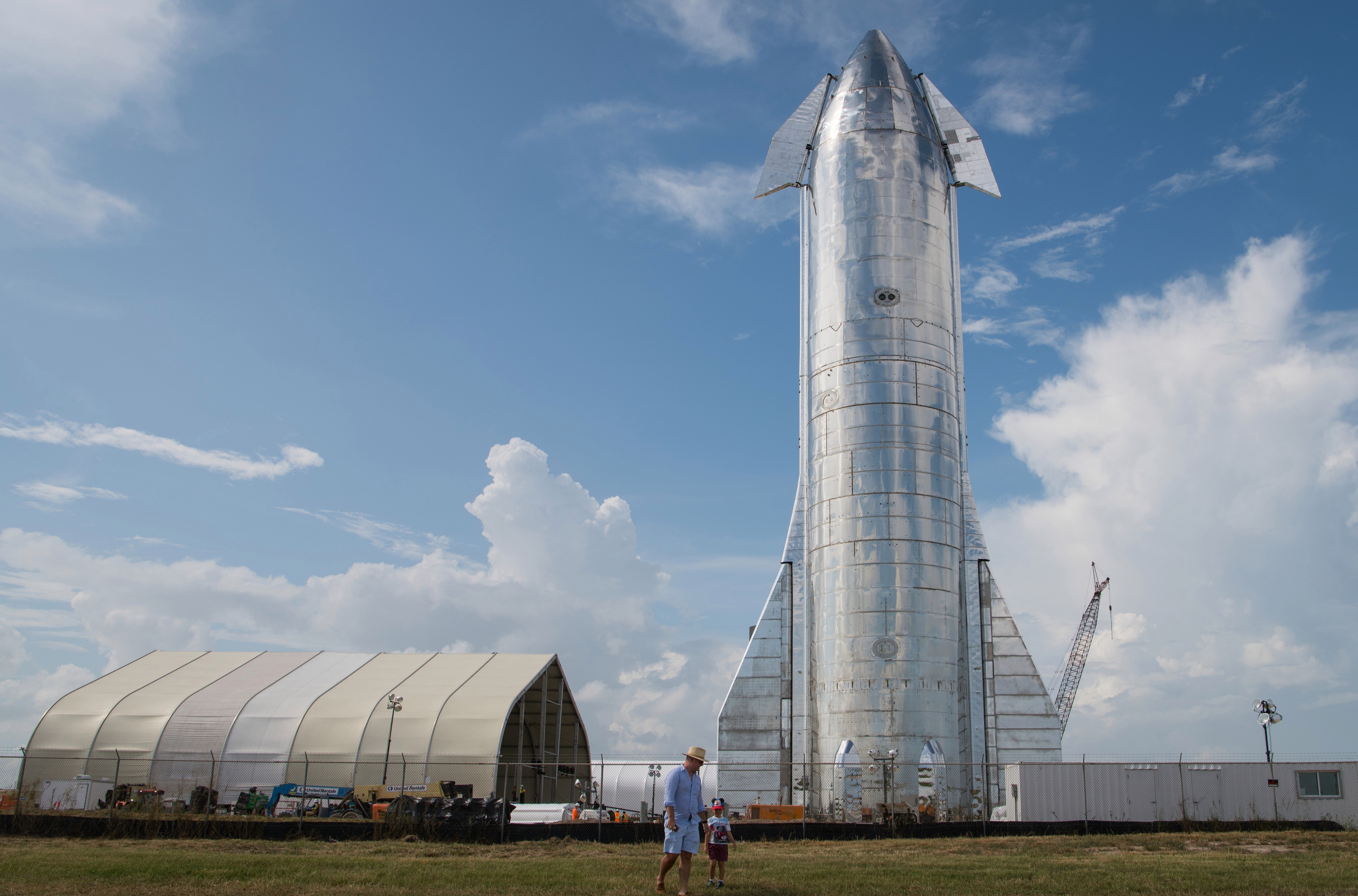 Starship is an experimental spacecraft in the early stages of development