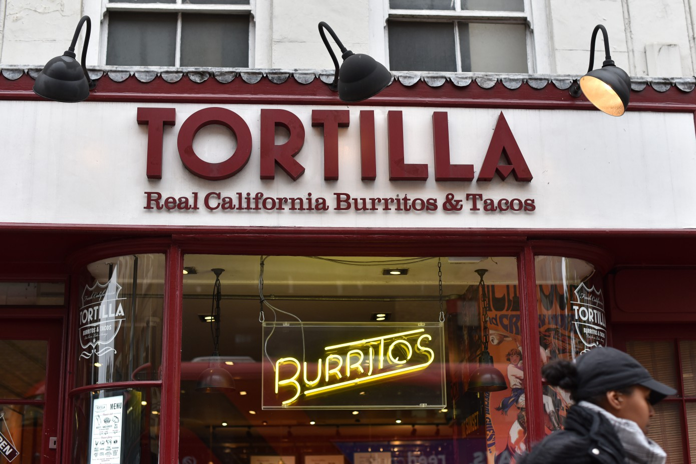 For a burrito fix on a budget, check out Tortilla during Deliveroo's offering