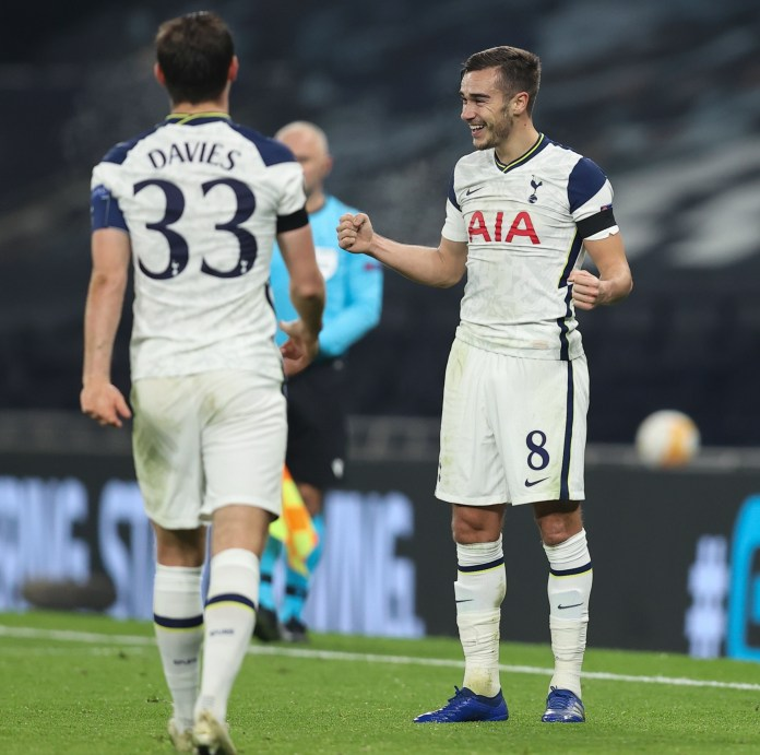 Harry Winks finished his sterile goal run in unreal style