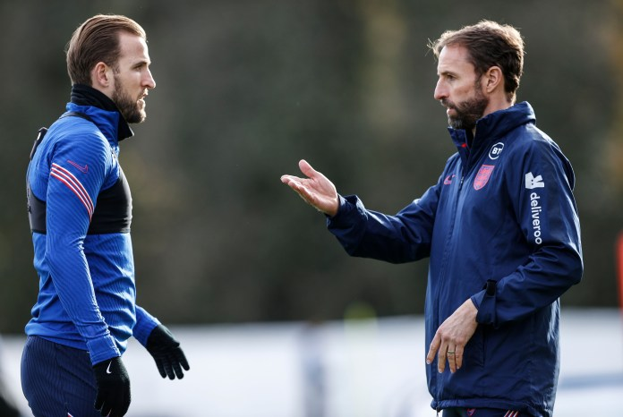 After ten days of self-isolation, England's superfit manager was back to work