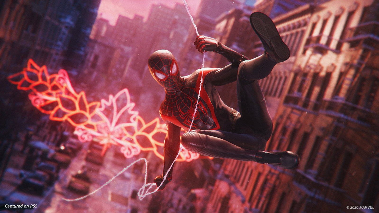 Spiderman: Miles Morales is one of the PS5's blockbuster launch games