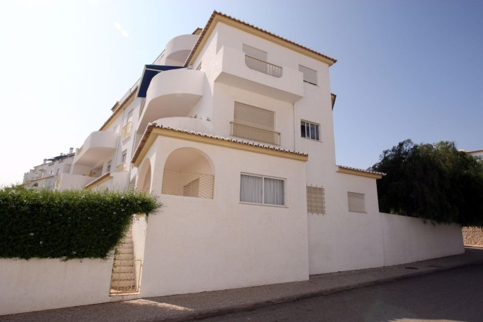 The McCanns were staying in this Algarve apartment when Maddie went missing