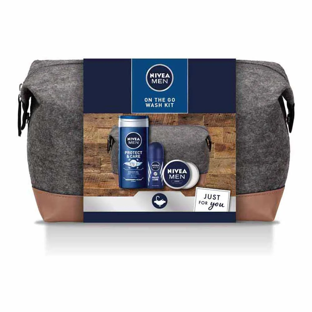 Grab the Nivea Men On The Go gift set for just £7 at Wilko
