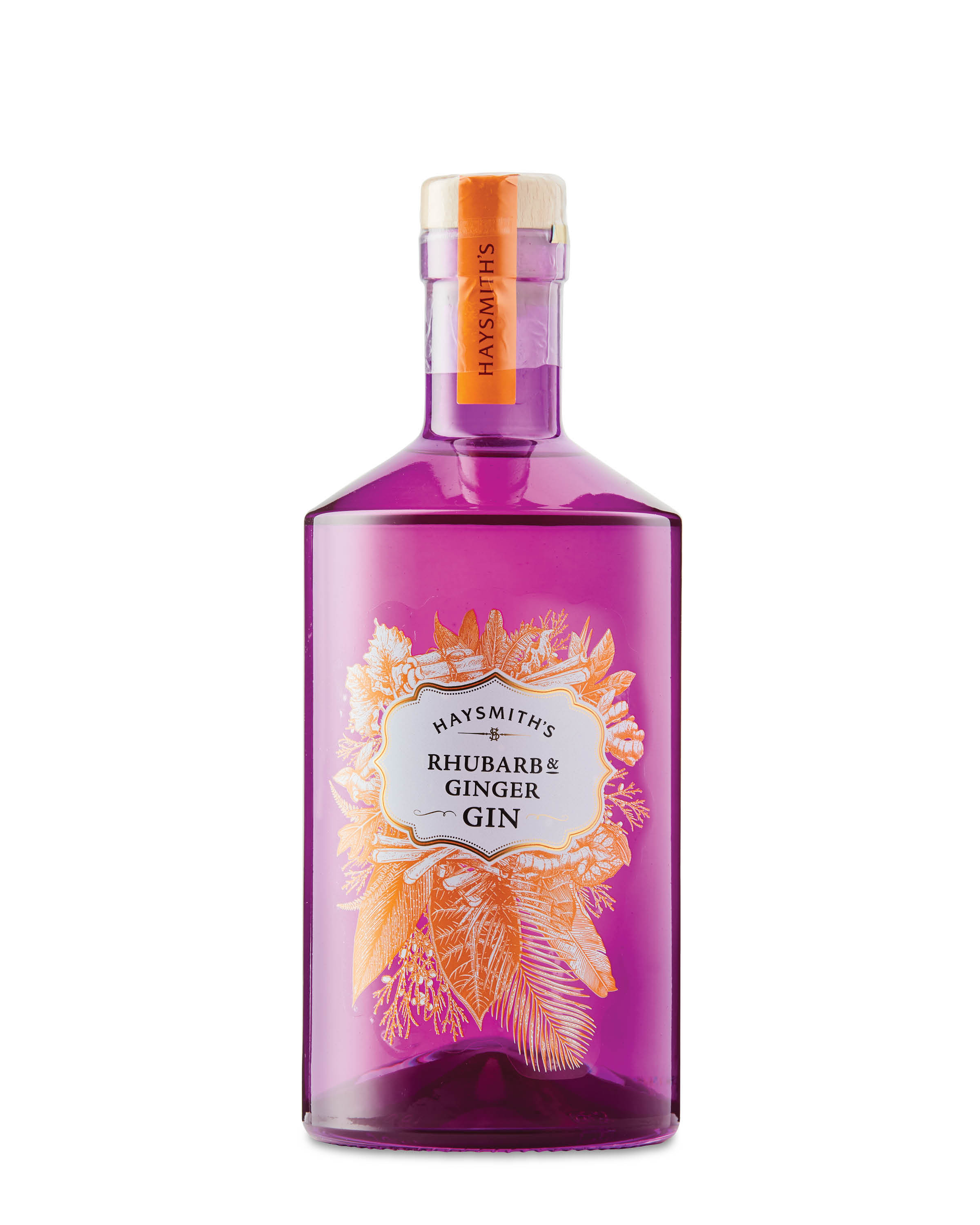 The Haysmith's Rhubarb and Ginger Gin retails at £14.99