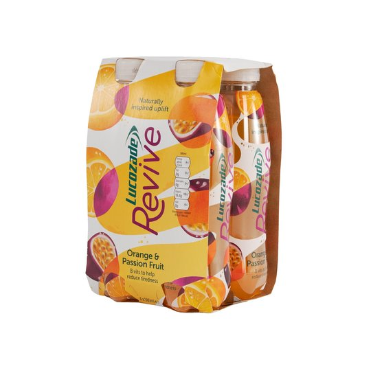 Lucozade Revive in orange and passion fruit is just £2 with a clubcard at Tesco