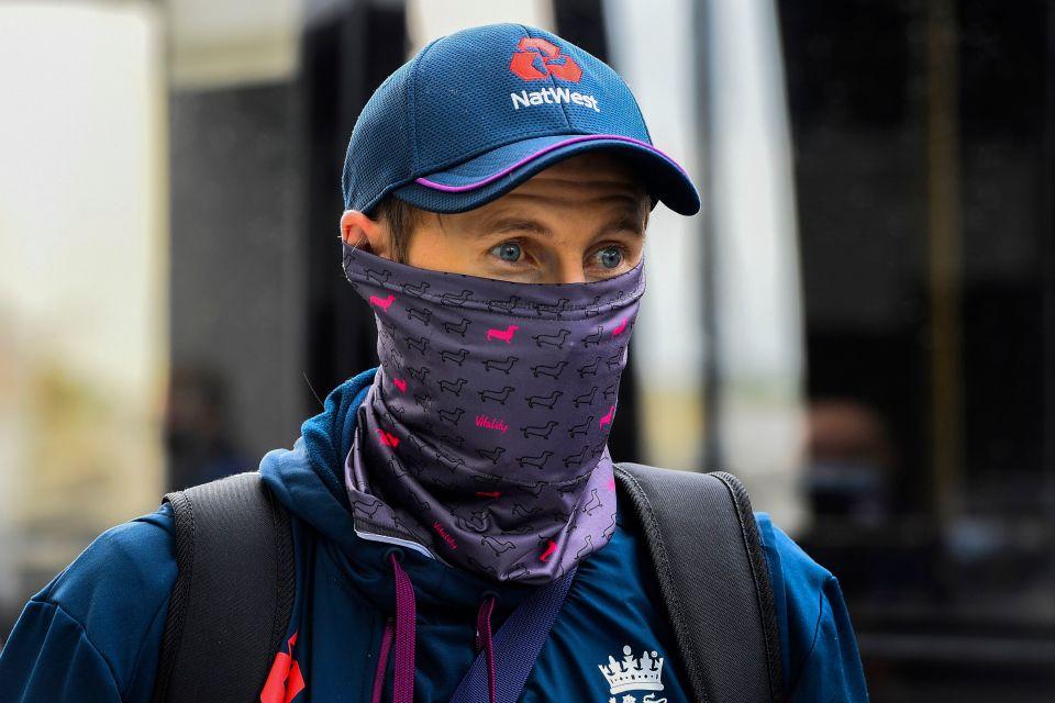 Root's England were beaten in India