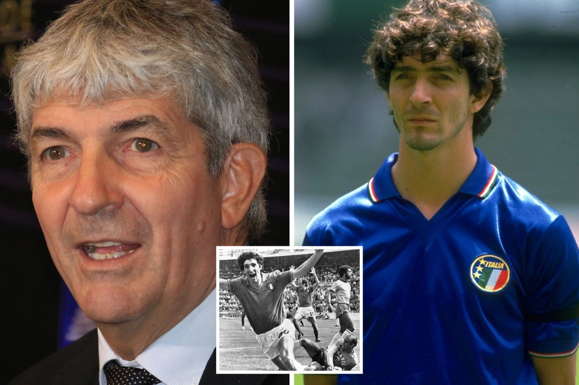 Paolo Rossi dead: Legendary Italy striker dies, aged 64, as tributes pour  in for 1982 World Cup winner