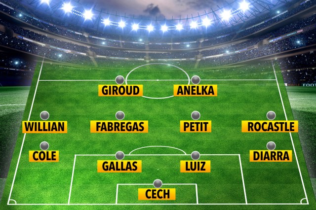 The best XI of players to have starred for both Arsenal and Chelsea