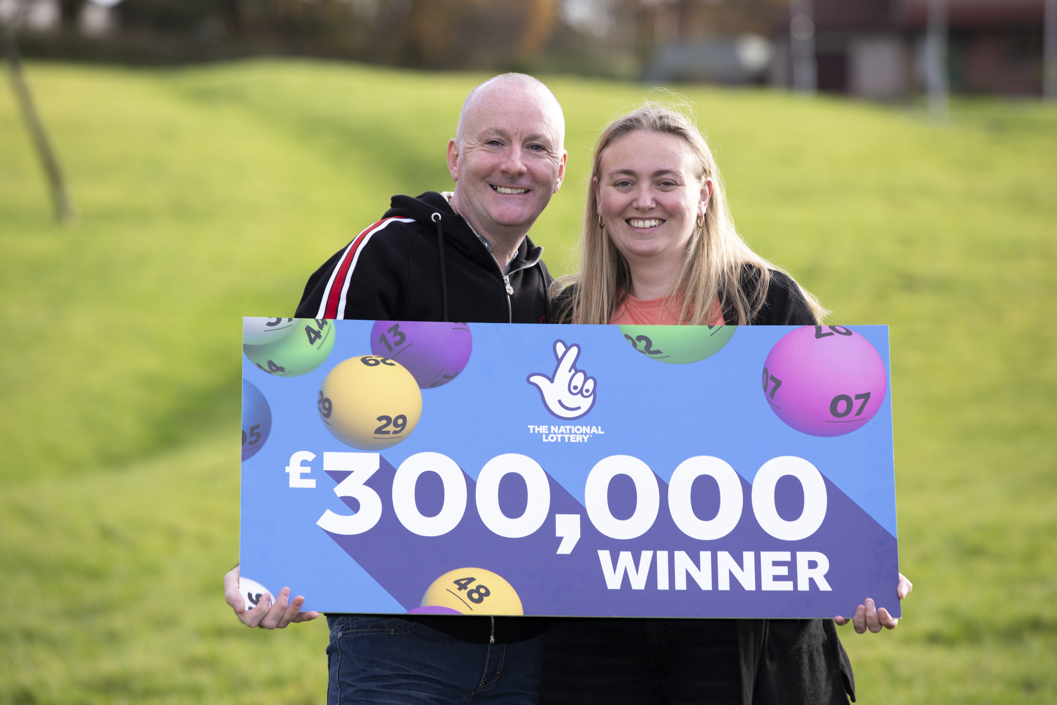 Sandra Devine and her husband Mike won by chance - can you too?