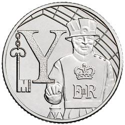 10p coins featuring Yeoman Warder guards are also worth more than their face value