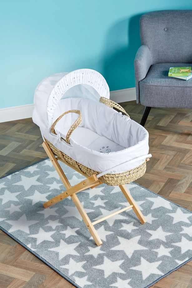 Moses baskets are another essential buy for little ones