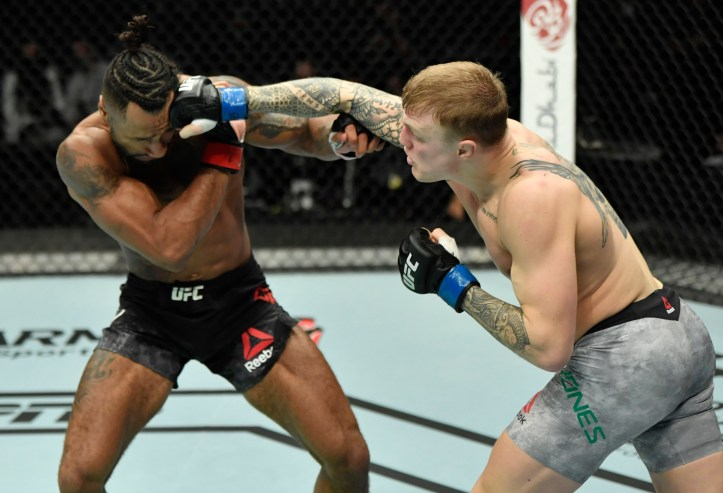 The Welshman may have failed to secure the W in his UFC debut, but the barnburner he put on with Mike Davis was a surefire way to promote himself. | Patrick vs Jones