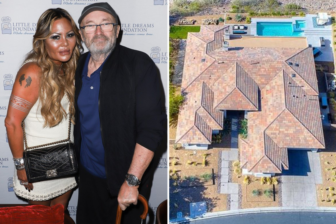 Phil Collins accepts offer to sell his £29m six-bed mansion days before  cheating ex-wife's deadline