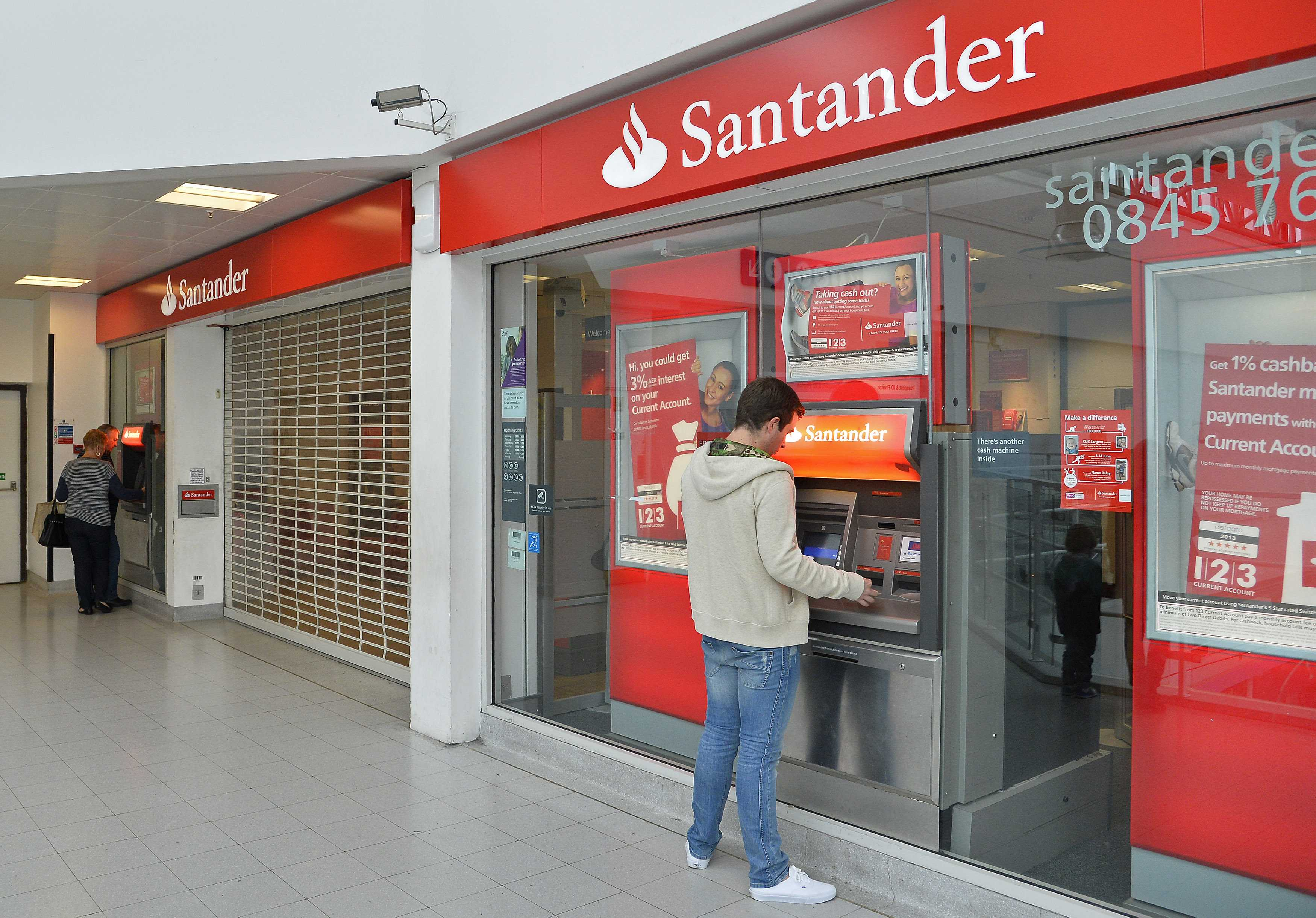 Santander has cut the rate on its 123 account for the third time in 11 months