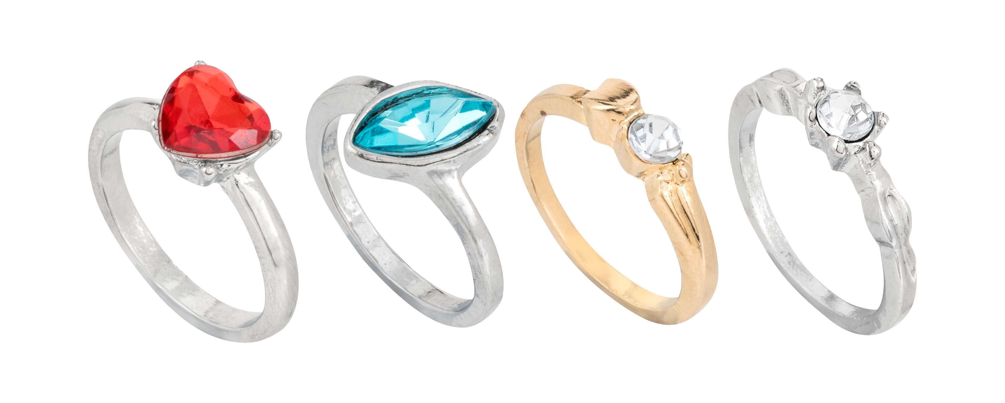 The rings are available in a number of sizes in all Poundland stores