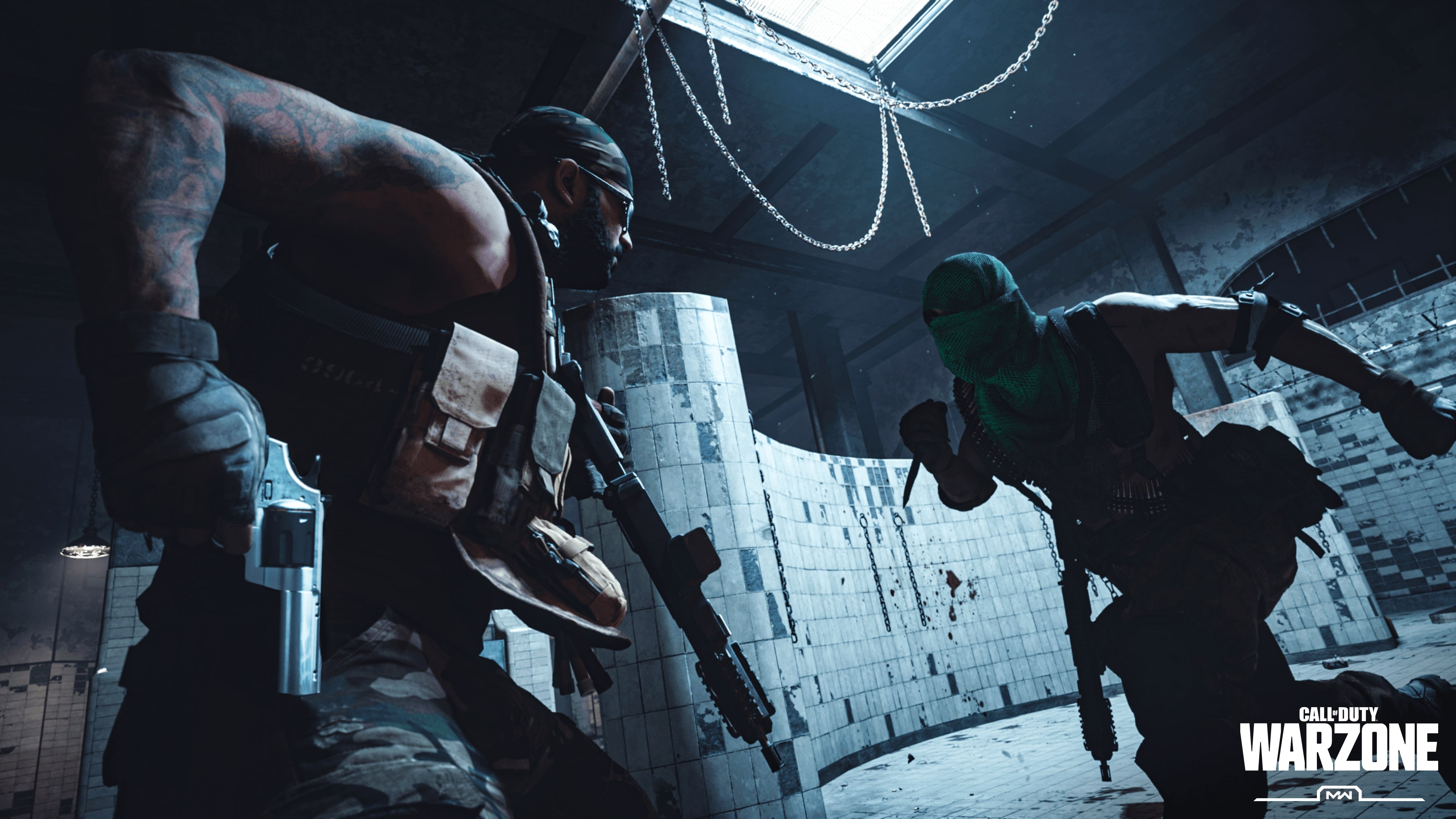 Gulag pits Warzone players one-on-one in a fight to the death