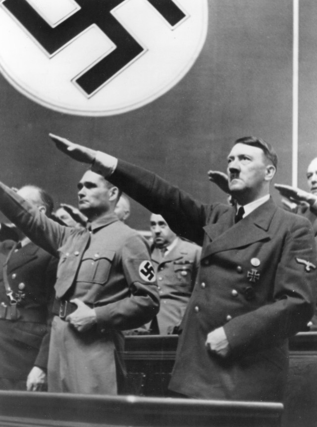 It was claimed HItler underwent plastic surgery to keep himself hidden