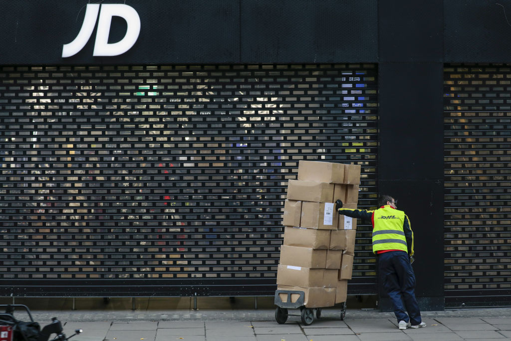JD Sports have been forced to shut during the lockdown
