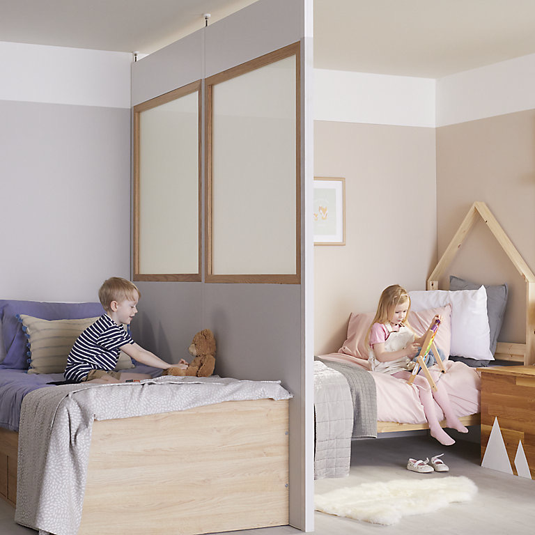 Savvy Tips To Give Warring Kids Their Own Space When They Share A Bedroom Without Breaking The Bank
