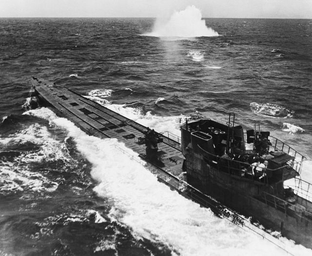 U-boats were feared to have been used to ferry Nazis to South America