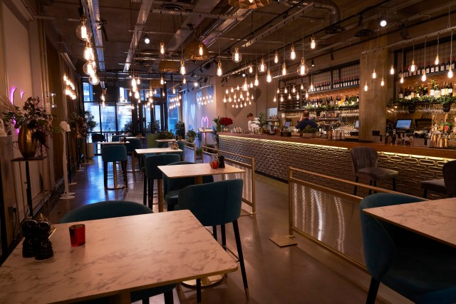 The First Dates restaurant is now in Manchester