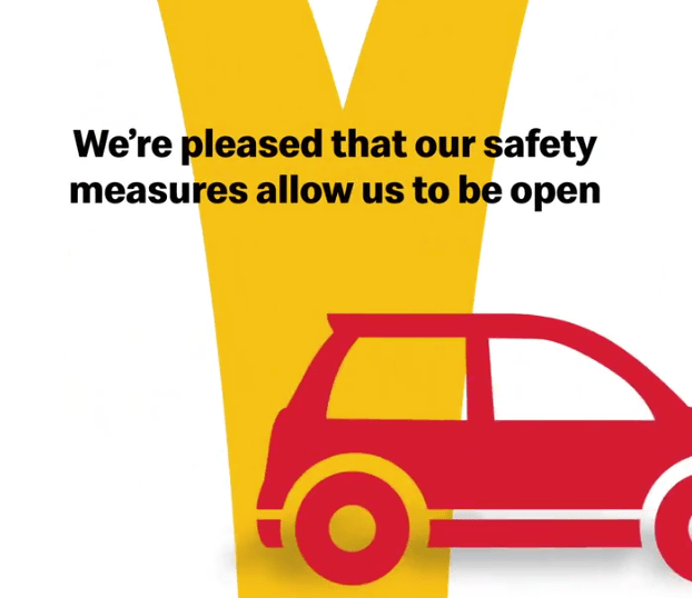 The fast food chain has explained its latest safety measures