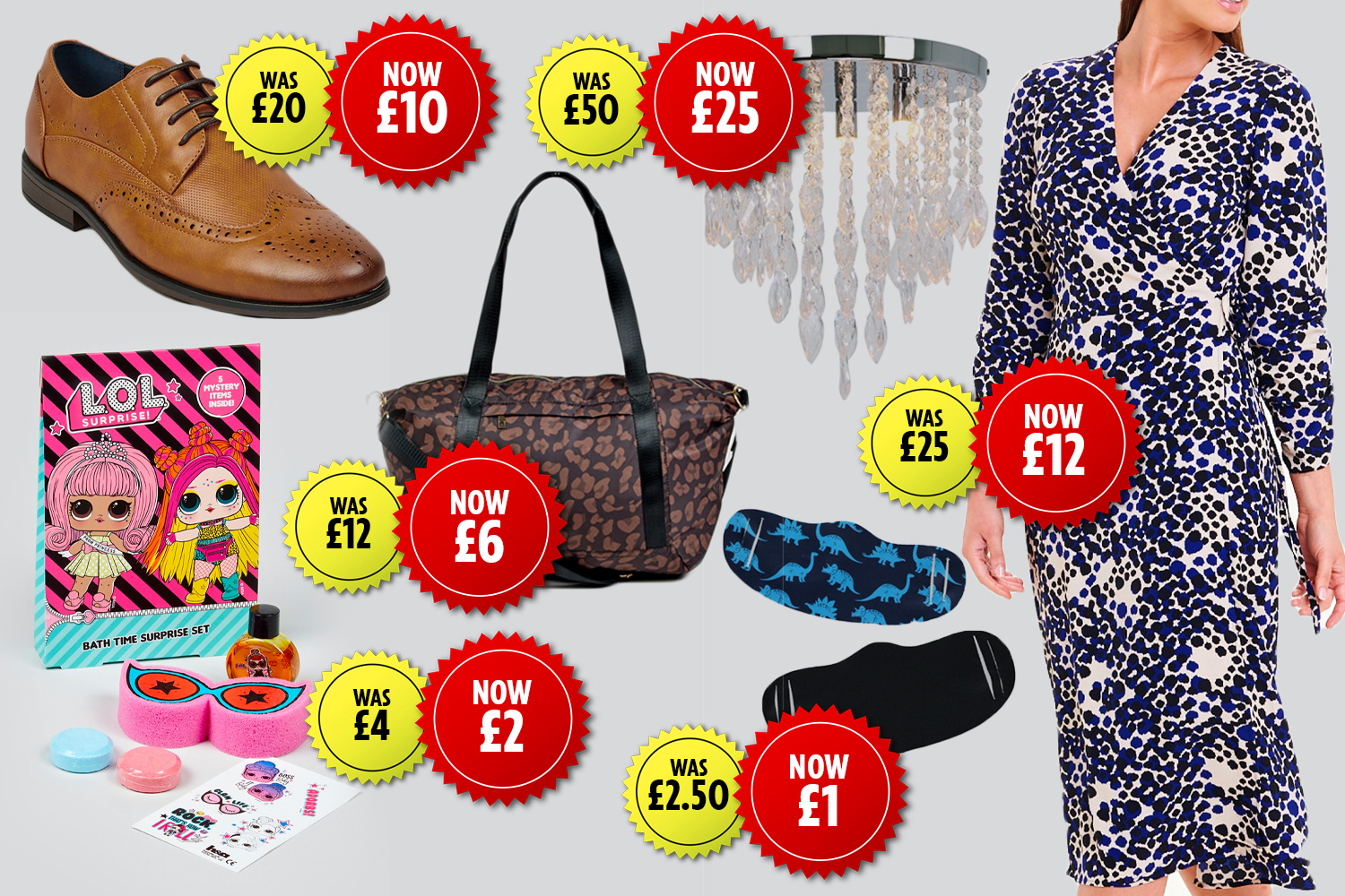 Matalan has launched a clearance sale with discounts on more than 1,100 items